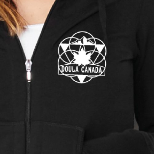 Doula in the Hoodie w/ Circle of Life Emblem