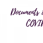 COVID-19:  Letters and Documents