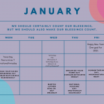 FREE Social Media posting calendar for Doulas & Birth Professionals!